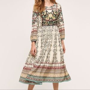 Anthropologie Bhanuni by Jyoti maxi dress